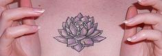 Sailor Moon chest tattoo of the emperium silver crystal! (Also very much resembling a lotus flower.)   AMAZING!!! ... /geekoutmoment