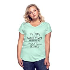 Cute Christmas Teacher Quote Santa Loves Teachers Women's Tri-Blend V-Neck T-Shirt ✓ Unlimited options to combine colours, sizes & styles ✓ Discover V-Neck T-Shirts by international designers now! Jealous Women, Camping Hair, Custom Clothes, V Neck T Shirt, Shirt Designs, Feminine, T Shirts For Women, How To Make, Tote Bags