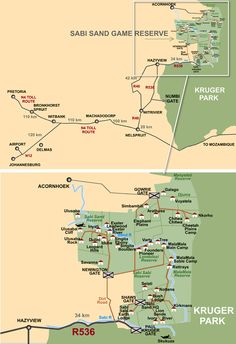Distances to Kruger  Africa  Pinterest  Travel advisory Kruger