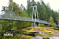 Top Bridge - one of the many hidden gems found on Vancouver Island - Vancouver Island View Cool Places To Visit, Places To Travel, California Camping, Southern California, Travel Oklahoma, New York Travel, Vancouver Island, Canada Travel, Thailand Travel