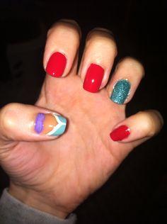 Little mermaid Disney nails II