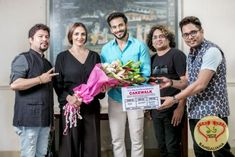 The shooting of Esha Deol Takhtani's comeback film Cakewalk started on the auspicious day of Gudi Padwa, marking the first day of the year in Marathi calendar.