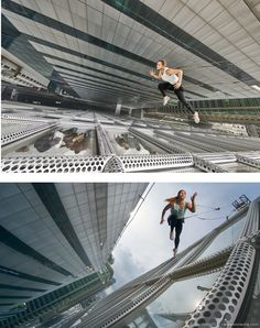 Photographer Benjamin Von Wong celebrates the everyday hero with his gravity-defying action photography.
