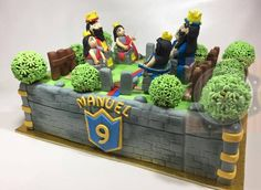 BOLO CLASH OF ROYALES - TORTA CLASH OF ROYALES - CLASH OF ROYALES CAKE