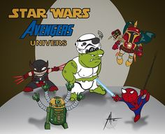 star wars marvel fusion