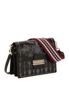 8587e17ae7cc Etro B Tracolla Rainbow Soft Ricamo Bag  1