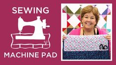 A Perfect Gift For Yourself, You're Going to Love This Sewing Machine Pad!