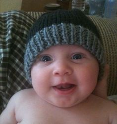 Soft Hand Knitted Baby Hat by GranasCorner on Etsy, $10.00