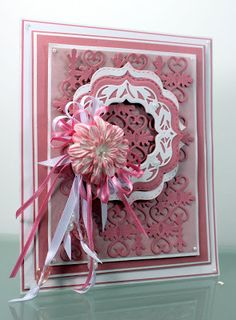 Happy Wednesday, Today's new die is the Spellbinders decorative labels 50 with the twisted palm again 2 spellbinders dies I bought and n. Spellbinders Cards, Sue Wilson, Crafters Companion, Orange Blossom, Happy Birthday Cards, How To Make Bows, Happy Sunday, Cardmaking, Paper Crafts