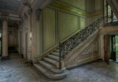 . Stairs, Home Decor, Abandoned Places, Germany, Stairway, Decoration Home, Room Decor, Staircases, Home Interior Design