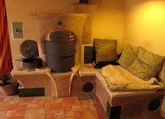 Raketová kamna - princip - Inspirováno Přírodou Rocket Stoves, Snuggles, Diy Projects, Fire Places, Couch, Small Houses, Lisa, Gardens, Inspiration