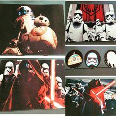 Kit Jogo Americano Star Wars