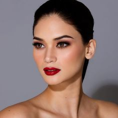 Makeup Asian Wedding Red Lipsticks Ideas trendy makeup gold silver smokey eye Hochzeit # 20 + Eye Makeup Step By Step With Pictures – Pinokyo Shiseido Senka All Clear Double W Make Up Removal Face Cleansing – … Red Lipstick Makeup Looks, Makeup Hacks Lipstick, Best Mac Lipstick, Lipstick Colors, Red Lipsticks, Makeup Eyeshadow, Blue Red Lipstick, Wine Lipstick, Makeup Lips