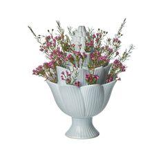 "10"" Ceramic Table Vase Flower Vases, Flower Arrangements, Flowers, Tulip Bulbs, Wholesale Home Decor, Ceramic Table, Blue Yellow, Bright Yellow, Tulips"