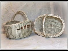 Подробный мастер-класс корзинки из газетных трубочек. - YouTube Diy And Crafts, Paper Crafts, Old Newspaper, Basket Weaving, Recycling, Home Decor, Videos, Carton Box, Napkin