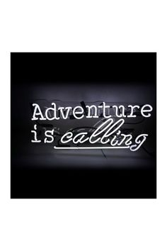 Oliver Gal 'Adventure' Neon Sign by Oliver Gal Gallery on @HauteLook