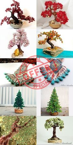 GOODBYEWINTER | Spend $25 and get 5% OFF your order! Limited time offer. #sale #bonsai #beade #jewelry #tree #feng #shui #miniature #wire #artificial ➡️ https://www.etsy.com/shop/NikasHandmade?utm_campaign=products&utm_content=d3689fa008bf4b28a04779332de653f0&utm_medium=pinterest&utm_source=sellertools