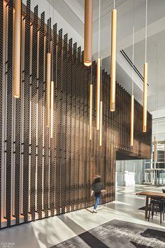70 Hudson Street By Studios Architecture 2018 Best Of Year Winner For Commercial Lobby Interior Design Magazine Design Entrée, Ecole Design, Design Blogs, Design Ideas, Detail Design, Modern Design, House Design, Hotel Lobby Design, Modern Hotel Lobby
