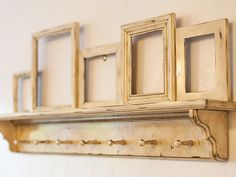 Hey, I found this really awesome Etsy listing at https://www.etsy.com/listing/251926413/distressed-wall-shelf-with-picture