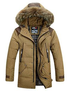 EEP Men's Winter Casual Puffy Feather Fur Hooded Mid-Length Down Jackets EEP is a famous clothing brand.They have more then 30 years experience of clothes to Mens Winter Coat, Winter Jackets, Famous Clothing, Fashion Killa, Mens Fashion, Waterproof Breathable Jacket, Young Cute Boys, Cashmere Coat, Bomber Jacket Men