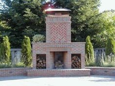 Outdoor Fireplace Plans | See More Rumford Fireplace Designs
