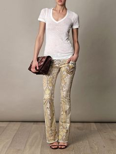 Isabel Marant jeans - love the jeans combined with the with top ! SarahJM