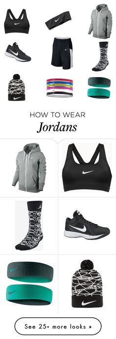 """I'll be all Nike one day lol ❤️"" by spadilla-i on Polyvore featuring NIKE"