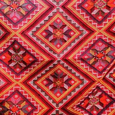 Detail of indigenous woven textile pattern from the Philippines Star Patterns, Textile Patterns, Textiles, Native Design, Beyond Words, Woven Fabric, Bohemian Rug, Weaving, Rugs