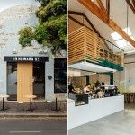 This Former Mechanics Workshop Is Now A Friendly Cafe