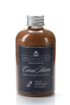 Chocolate Sun Organic Self Tanner - Cocoa Illume Face Gel