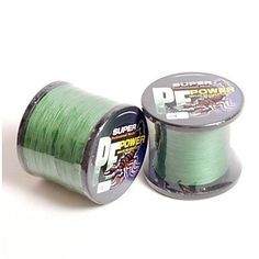 ViCreate Power 100% PE Dyneema Fiber 1000M 50LB Moss Green 0.32mm Braided Fishing Line Topwin -- Continue to the product at the image link.