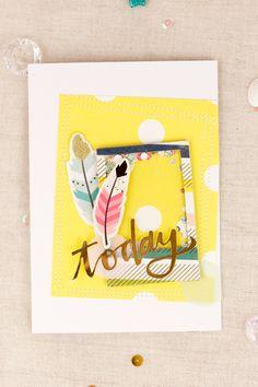 mojosanti : Kartenschau I Cards I Gossamer Blue July Kits 2015