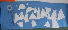 Amundsen y las montañas -triángulo.