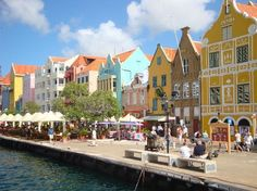 Willemstad, Curacao, Caribbean The 10 most colorful places Oh The Places You'll Go, Great Places, Places To Travel, Beautiful Places, Places To Visit, Willemstad, Vacation Destinations, Vacation Trips, Dream Vacations