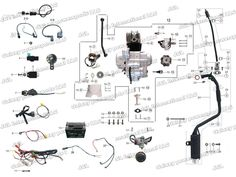 Enjoyable 110 Mini Chopper Wiring Diagram Wiring Diagram Database Wiring Digital Resources Funiwoestevosnl