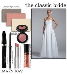 Every bride's style is different! If you're a classic bride, keep your makeup fresh and light with pretty pink hues.