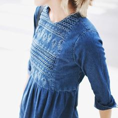summer appropriate denim and chambray - Bliss