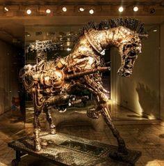 Trojan Horse III   ~by Willie Bester