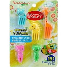 These have been a great alternative to toothpicks. Reusable. They are small so little children need to be watched while eating with them. Great for school-age children to pack in their lunch.