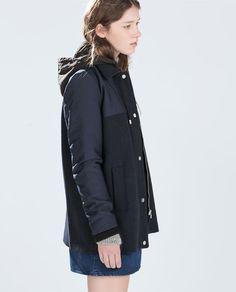Zara - Long Puffer Jacket http://www.zara.com/us/en/sale/woman