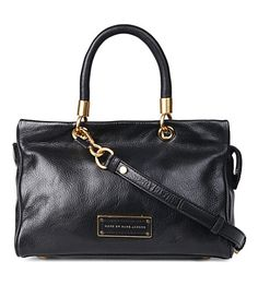 MARC BY MARC JACOBS Too Hot to Handle leather satchel (Black