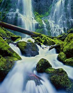 Proxy Falls, Three Sisters Wilderness Area, Oregon.
