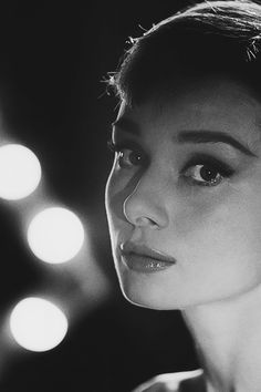 Audrey Hepburn photographed by Allan Grant, 1956.