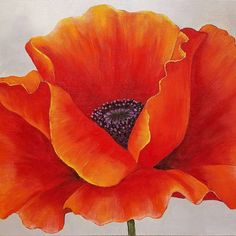 "75 Likes, 6 Comments - Angela Anderson (@thankfulart) on Instagram: ""Poppy painting tutorial. What a fun project this was! #angelafineart"""