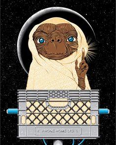 E.T. the Extra-Terrestrial / E.T. - Der Außerirdische