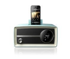 飞利浦ORD2105 iPhone5s/6 plus音响苹果5底座充电音箱 复古收音_FlareMart