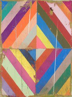 j'aime beaucoup cet art à cause de l'originalité, on dirait 4 tableaux semblables attachés ensemble. De plus, les couleurs vont bien ensemble et j'aime les parties anciennes du tableau.
