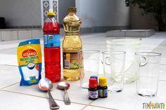 Surpreenda as crianças com uma brincadeira de ciências - materiais Drink Bottles, Vodka Bottle, Pre School, Slime, Kids, Emei, Professor, Homeschooling, Portal