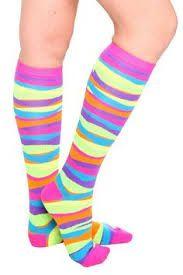 Image result for neon cotton socks