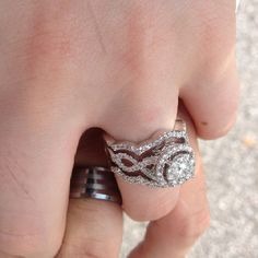 Don't like big rings but this one is   Beautiful :)